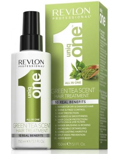 Uniq One tratamiento reparador té verde