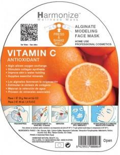 Mascarilla alginatos vitamina C Harmonize