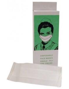 Máscara de papel 245 1 capa 100 unidades  Cami-Cel