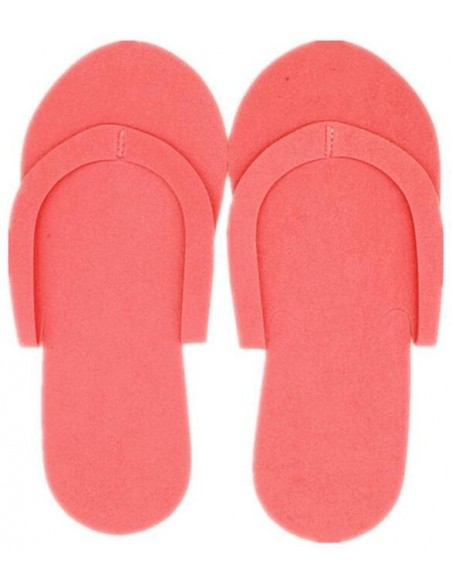 Par de zapatillas desechables de colores