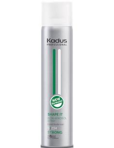 Laca sin aerosol Shape It Kadus Professional