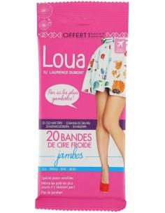 Banda cera depilatoria piernas Loua