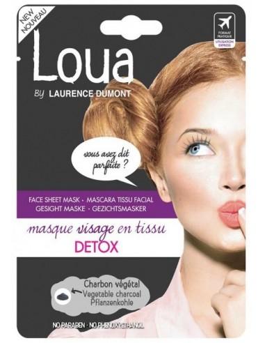 Mascarilla facial detox Loua