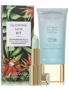 Pack Glowing Skin S7 (color cream 02 + concealer stick) Keenwell