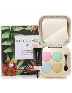 Pack Pastel Eyes S6 (4sombras + pre base) Keenwell