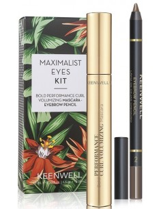 Pack Maximalist Eyes S5 (mascara + perfilador cejas) Keenwell