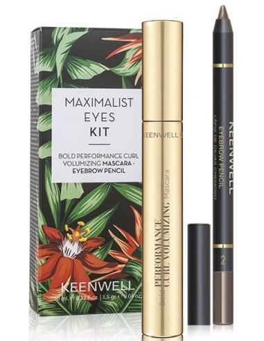Pack Maximalist Eyes S5 (mascara + perfilador cejas) Keenwell