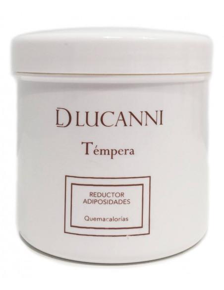 Tempera crema liporeductora efecto calor DLucanni 500 ml