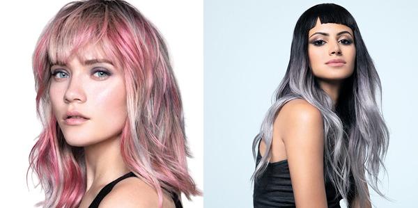 Tendencia en el cabello: Los colores metálicos